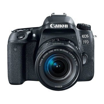Canon EOS 77D DSLR Camera W/18-55mm -(1892C016)