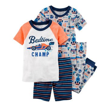 Carter's Toddler Boys' Multi Racecar 3-Piece Pajama Set