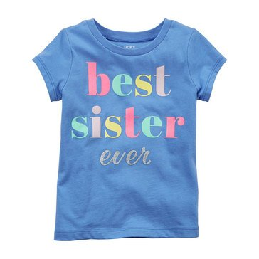Carter's Little Girls' Best Sister Tee