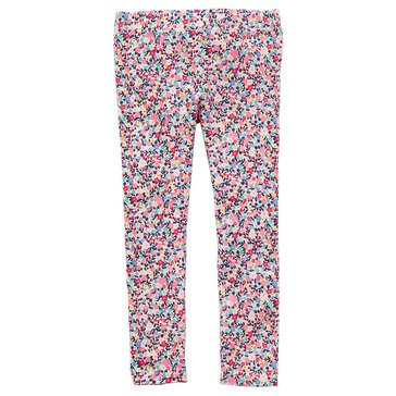 Carter's Little Girls' Ditsy Flower Print Legging