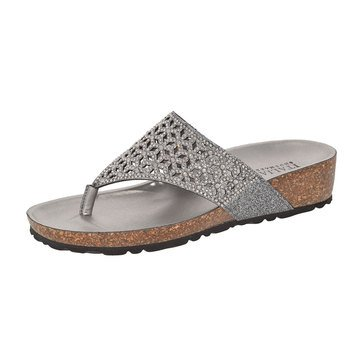 Italian Shoemakers Eloise Comfort Footbed Pewter