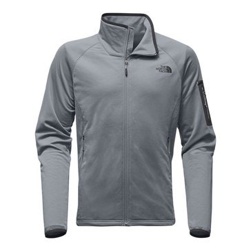 The North Face Men's Borod Grided Fleece Full Zip Jacket