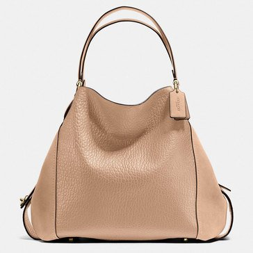 Coach Mixed Leather Edie 24 Beechwood