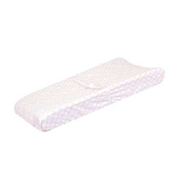 Just Born Dream Trellis Changing Pad Cover, Pink
