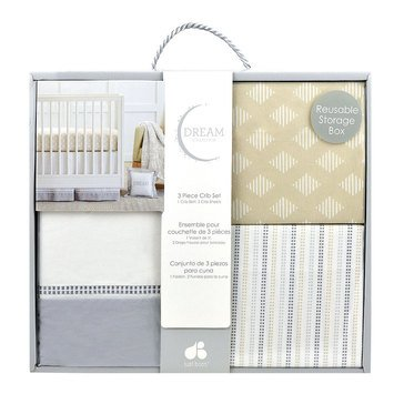 Just Born 3-Piece Dream Stripes & Geo Diamonds Box Set