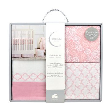 Just Born 3-Piece Dream Floral & Trellis Box Set