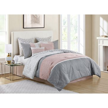 Harbor Home Gold Collection 8-Piece Comforter Set, Cordelia - Queen