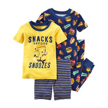 Carter's Little Boys' Yellow 3-Piece Pajama Set