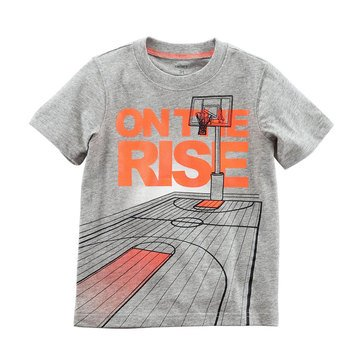 Carter's Little Boys' On the Rise Tee, Heather