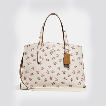 Coach Floral Bloom Charlie Carryall Chalk Multi