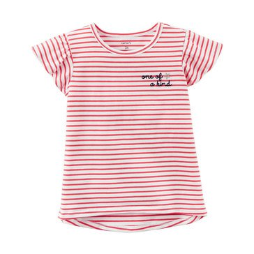 Carter's Little Girls' Stripe Top