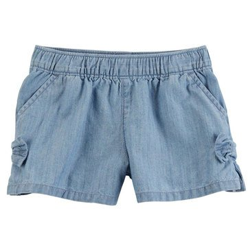 Carter's Little Girls' Denim Short