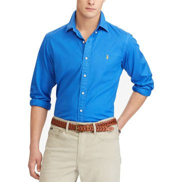 Polo Ralph Lauren Men's Long Sleeve Chino Sport Shirt