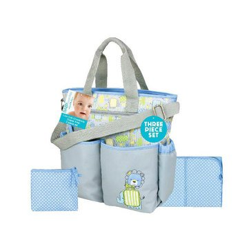 Baby Essentials 3-in-1 Jungle Baby Diaper Bag