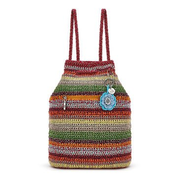 The Sak Crochet Petaluma Backpack Nomad Stripe