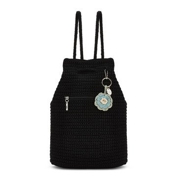 The Sak Crochet Petaluma Backpack Black