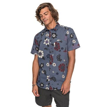 Quiksilver Men's Sunset Floral Short Sleeve Woven Shirt