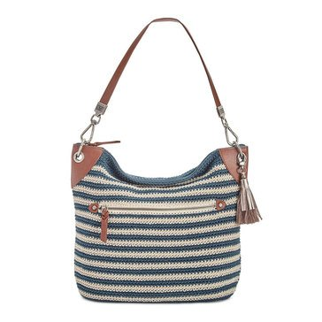 The Sak Crochet Indio Hobo Vintage Eggshell Stripe