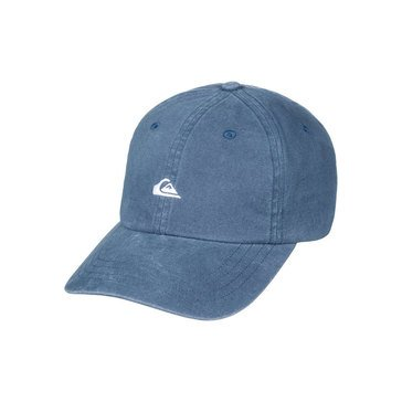 Quiksilver Men's 6 Panel Papa Hat in Indigo Blue