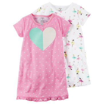 Carter's Girls' Bunny Gown Set