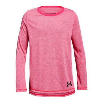 Under Armour Big Girls' Threadborne Tee