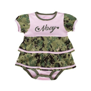 Trooper Type III Girl Baby Ruffle Dress