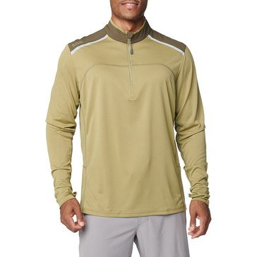 5.11 Tactical Men's Max Effort Long Sleeve 3/4 Zip Top