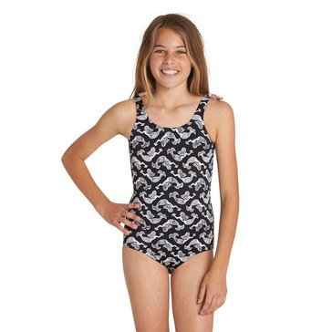 Billabong Big Girls' 1-Piece Conch'd Out Swimsuit