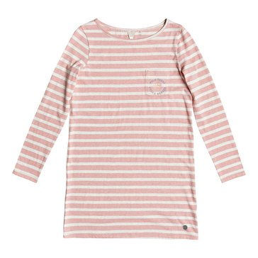 Roxy Big Girls' Spin With Me Stripe Dress