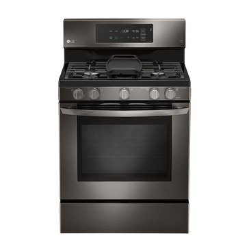 LG 5.4-Cu.Ft. Freestanding Gas Convection Range, Black (LRG3193BD)