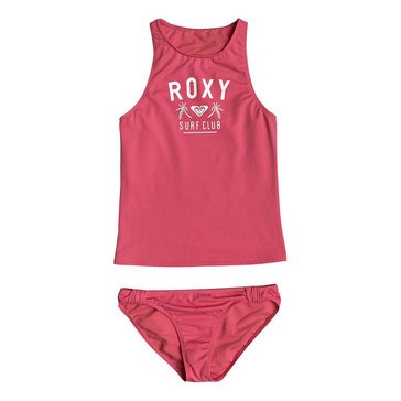 Roxy Big Girls' Need The Sea Tankini Swimsuit
