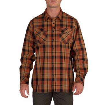5.11 Tactical Men's Peak Long Sleeve Plaid Shirt