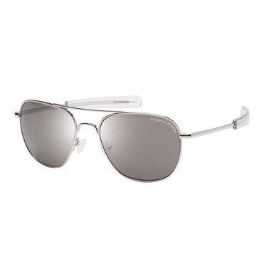 278fc7506f Eagle Eyes Freedom Sunglasses Silver 55mm