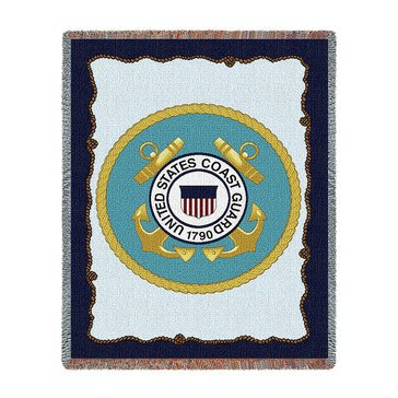 Pure Country U.S. Coast Guard Throw Blanket
