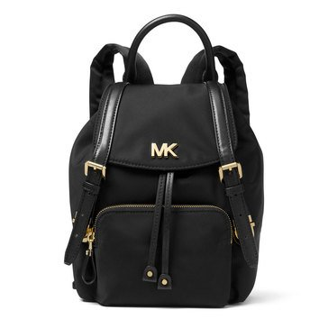 Michael Kors Mott Small Backpack Nylon Black