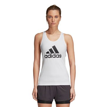 Adidas Women's D2M Commercial Tank in White