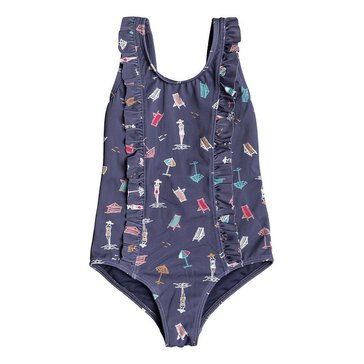 Roxy Little Girls' 1-Piece Tropicool Swimsuit