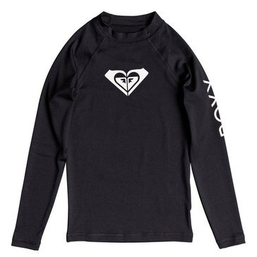Roxy Big Girls' Whole Hearted Rashguard