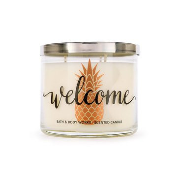 Bath & Body Works 3-Wick Candle - Welcome