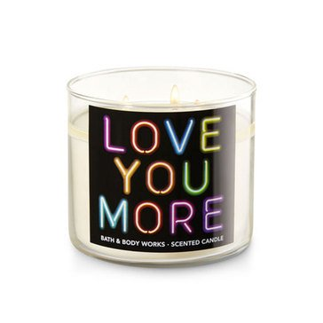 Bath & Body Works 3-Wick Candle - Love You More
