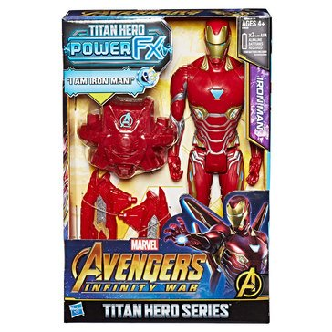 Marvel Avengers 12in Titan Hero Power FX, Iron Man