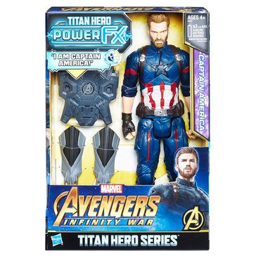 Marvel Avengers 12in Titan Hero Power FX, Captain America