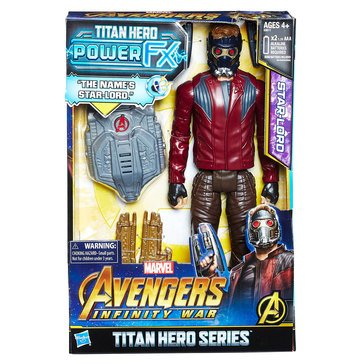 Marvel Avengers 12in Titan Hero Power FX, Starlord