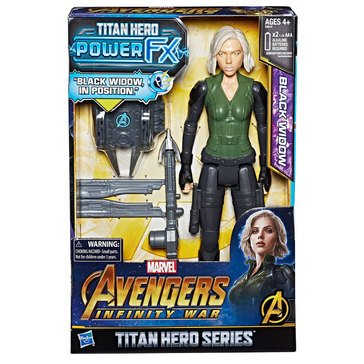 Marvel Avengers 12in Titan Hero Power FX, Black Widow
