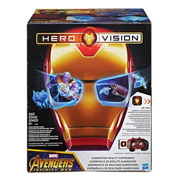Marvel Avengers Hero Vision Iron Man AR Mask