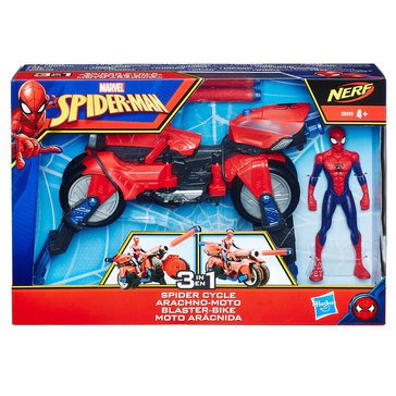 Marvel Spider-Man 6in Zoom N Go Spider Cycle