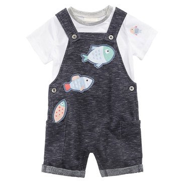 First Impression Baby Boys' Swimming Fish Call Shark Eye Shortall