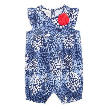 First Impression Baby Girls' Shibori Floral Sunsuit