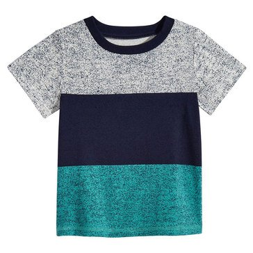 First Impression Baby Boys' Distressed Tee, Bright White