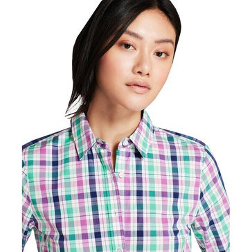 Brooks Brothers Women's Plaid Shirt